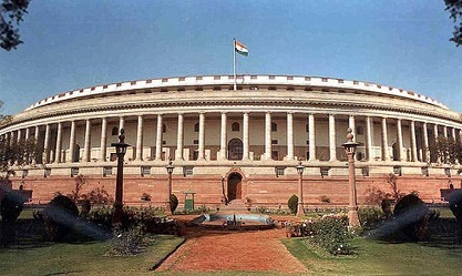 Parliament Of India in Hindi